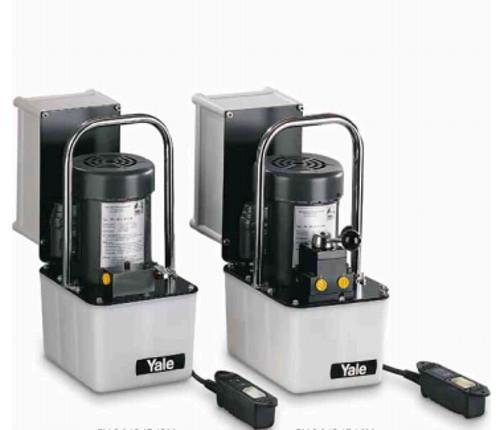 Yale Portable Hydraulic Power Pumps