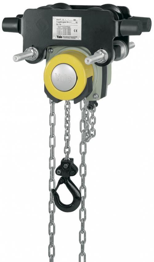 Yalelift 360 Integral Push Trolley Chain Hoist