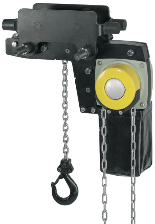 Yalelift 360 YLLHP/G Ultra Low Headroom Trolley Integral Chain Hoist